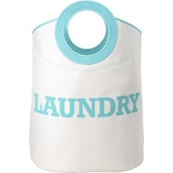 Whitmor Laundry Hamper Tote Turquoise