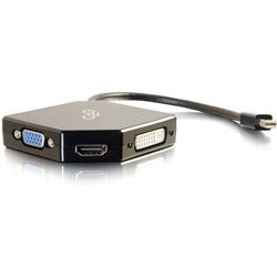 C2G Mini DisplayPort to HDMI, DVI or VGA Adapter