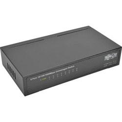 Tripp Lite 8-Port Gigabit Ethernet Switch Desktop Metal Unmanaged Swi