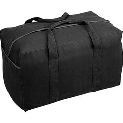 Stansport Carrying Case for Clothing, Gear, Travel Essential - Black - Thumbnail 0