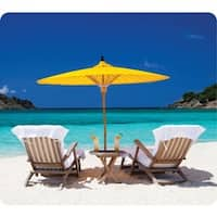 Fellowes Recycled Mouse Pad - Caribbean Beach