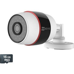 EZVIZ Husky HD 1080p Outdoor Wi-Fi Video Security Camera, 16GB MicroS