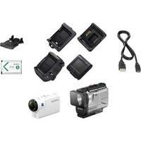 Sony HDR-AS300R Digital Camcorder - Exmor R CMOS - Full HD - White
