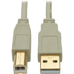 Tripp Lite 10ft USB 2.0 Hi-Speed A/B Cable M/M 28/24 AWG 480 Mbps Bei
