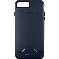 Macally Dual Layer Protective Case with Kickstand for iPhone 7 (Navy