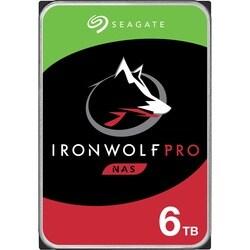 """Seagate IronWolf Pro ST6000NE0021 6 TB 3.5"""" Internal Hard Drive - SAT"""