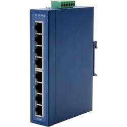 B+B 8-port 10/100 Unmanaged Ethernet Switch, Wide Temperature
