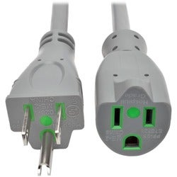 Tripp Lite 15ft Hospital Medical Power Extension Cord 5-15P 5-15R 15A