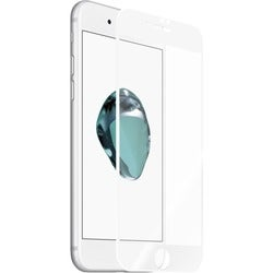 Kanex EdgeGlass Screen Protector Crystal Clear, White