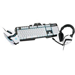IOGEAR Kaliber Gaming Imperial White Edition Gamer Pack