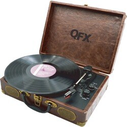 QFX Retro TURN-105 Record Turntable