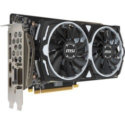 MSI ARMOR RX 480 ARMOR 8G OC Radeon RX 480 Graphic Card - 1.29 GHz Co