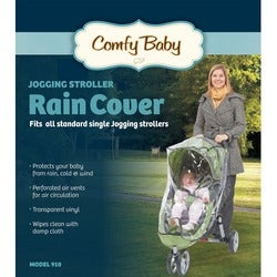 Babyroues Comfy Baby Universal Single Jogging Stroller Raincover