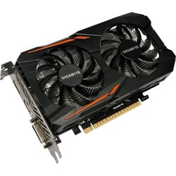Gigabyte Ultra Durable 2 GV-N105TOC-4GD GeForce GTX 1050 Ti Graphic C