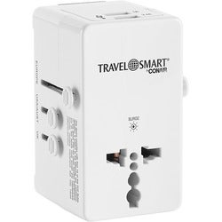 Travel Smart All-In-One Adapter with USB Port