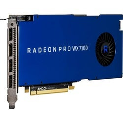 AMD Radeon Pro WX 7100 Graphic Card - 1.19 GHz Core - 1.24 GHz Boost