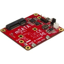 StarTech.com USB to mSATA Converter for Raspberry Pi and Development