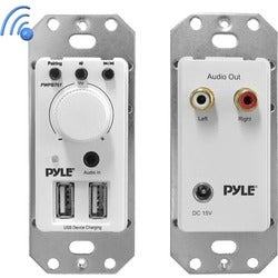 Pyle In-Wall / Wall Plate Bluetooth Amplifier