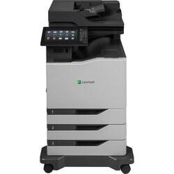 Lexmark CX825dte Laser Multifunction Printer - Color - Plain Paper Pr