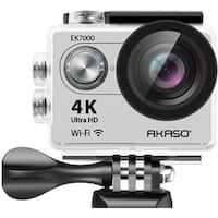 AKASO EK7000 in Silver 4K WIFI Action Camera Ultra HD Waterproof Camc