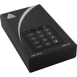 Apricorn Aegis Padlock DT FIPS ADT-3PL256F-10TB 10 TB External Hard D