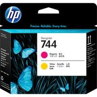 HP 744 Original Printhead - Magenta, Yellow