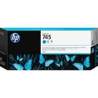 HP 745 Original Ink Cartridge - Cyan