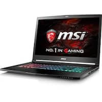 """MSI GS73VR Stealth Pro 4K-223 17.3"""" LCD Notebook - Intel Core i7 (7th"""