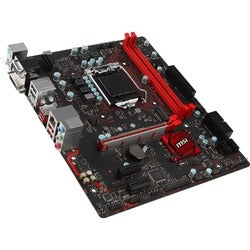 MSI B250M GAMING PRO Desktop Motherboard - Intel Chipset - Socket H4