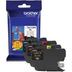 Brother LC30173PK Original Ink Cartridge - Cyan, Magenta, Yellow