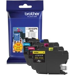 Brother LC30193PK Ink Cartridge - Cyan, Magenta, Yellow
