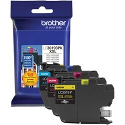 Brother LC30193PK Original Ink Cartridge - Cyan, Magenta, Yellow