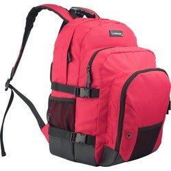 TechProducts360 Tech Pack Carrying Case for Notebook - Red