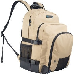 TechProducts360 Tech Pack Carrying Case for Notebook - Khaki