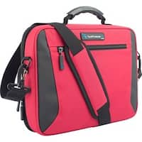 """TechProducts360 Alpha Carrying Case for 11"""" Netbook - Red"""