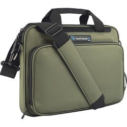 "TechProducts360 Vault Carrying Case for 12"" Notebook - Green"
