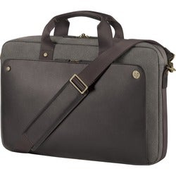 """HP Executive Carrying Case for 15.6"""" Notebook, Cell Phone, Paper - Br"""