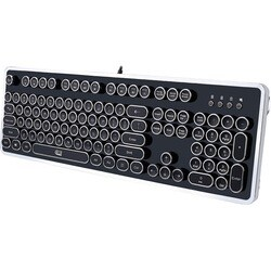 Adesso AKB-636UB Desktop Mechanical Typewriter Keyboard
