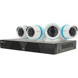 EZVIZ Smart Home 1080p Security Camera System, 4 Weatherproof 1080p I