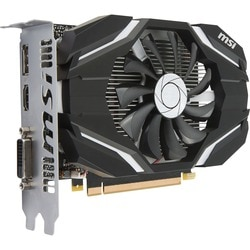 MSI GTX 1050 2G OC GeForce GTX 1050 Graphic Card - 1.40 GHz Core - 1.