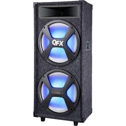 QFX Pro Audio PA Series SBX-215 Speaker System - 9600 W RMS - Wireles