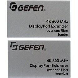 Gefen Ultra HD 600MHz DisplayPort 1.2 Extender over one SC-Terminated