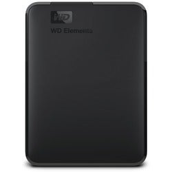 1TB WD Elements USB 3.0 high-capacity portable hard drive for