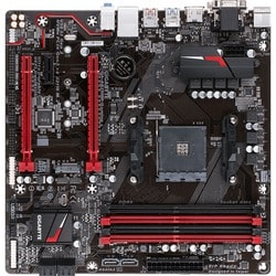 Gigabyte Ultra Durable GA-AB350M-Gaming 3 Desktop Motherboard - AMD B