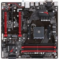 Gigabyte Ultra Durable GA-AB350M-Gaming 3 Desktop Motherboard - AMD C