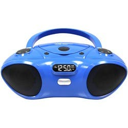 Hamilton Buhl Boombox with Bluetooth V2.0 Receiver, CD/FM Player|https://ak1.ostkcdn.com/images/products/etilize/images/250/1038714070.jpg?impolicy=medium