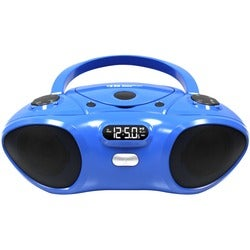 Ergoguys Boombox with Bluetooth V2.0 Receiver, CD/FM Player