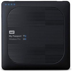 WD My Passport Wireless Pro WDBVPL0010BBK 1 TB External Network Hard