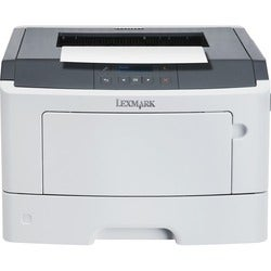 Lexmark MS417dn Laser Printer - Monochrome - 1200 x 1200 dpi Print -