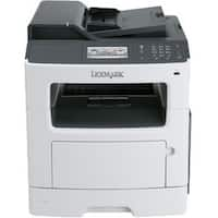 Lexmark MX417de Laser Multifunction Printer - Monochrome - Plain Pape